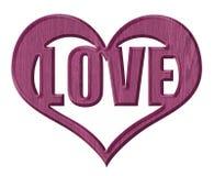 изолированное сердце Стоковое фото RF