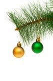 изолированное украшение рождества Стоковое Изображение RF
