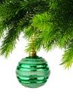 изолированное украшение рождества Стоковая Фотография RF