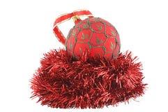 Изолированное украшение рождественской елки - Стоковая Фотография RF