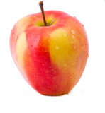 изолированное яблоко Стоковая Фотография RF