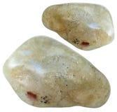 2 изолированной драгоценной камня лабрадорита Стоковые Изображения RF