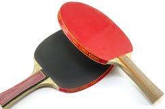 2 изолированной ракетки настольного тенниса Стоковые Фото