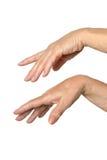 2 изолированной руки на Стоковые Изображения RF