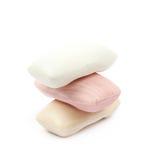 3 изолированной части мыла Стоковая Фотография RF