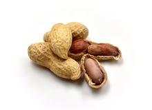 изолированные арахисы Стоковое Изображение RF