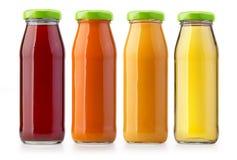Изолированные бутылки апельсинового сока Стоковое Изображение RF