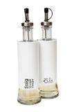 Изолированные бутылки уксуса и масла Стоковая Фотография RF