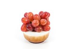 Изолированные виноградины Стоковая Фотография RF