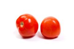 изолированные зрелые томаты белые Стоковое Изображение RF