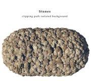 изолированные камни Стоковое Изображение RF