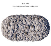 изолированные камни Стоковые Изображения RF