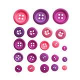 Изолированные кнопки стоковое фото