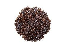 Изолированные кофейные зерна Стоковое Изображение RF