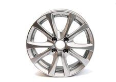 изолированные колеса автомобиля Стоковое Фото