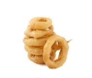 Изолированные кольца лука Стоковые Фото