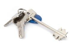 изолированные ключи Стоковая Фотография RF