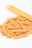 Изолированные макаронные изделия стоковая фотография rf