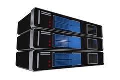 Изолированные машины сервера иллюстрация вектора