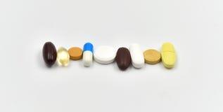 Изолированные медицины стоковая фотография