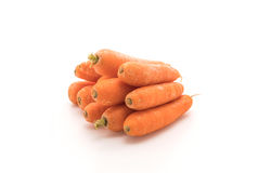 изолированные моркови младенца Стоковые Изображения RF