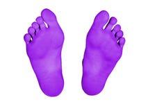изолированные ноги Стоковые Изображения