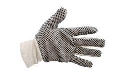 Изолированные перчатки работы Стоковые Фото