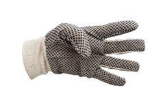 Изолированные перчатки работы Стоковая Фотография RF