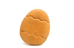 Изолированные печенья пасхи Стоковые Фотографии RF