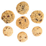 Изолированные печенья Стоковое фото RF