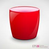 Изолированные реалистические чашка чая или кружка Coffey Стоковая Фотография RF