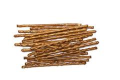 Изолированные ручки соли Стоковое Изображение