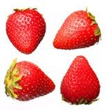 Изолированные собрания плодоовощ клубники, Стоковая Фотография RF