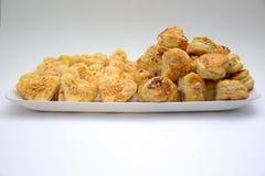 Изолированные солёные торты стоковое изображение
