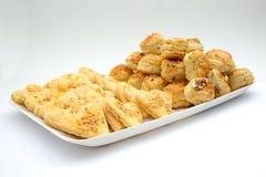 Изолированные солёные торты стоковая фотография rf