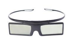 изолированные стекла 3d Стоковое Изображение