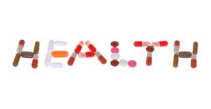 изолированные таблетки белые Стоковое Фото