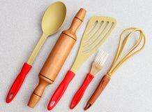 Изолированные утвари кухни Стоковое Фото