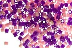 Изолированные удары пластмассы Стоковые Изображения RF