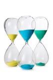 Изолированные часы Стоковая Фотография