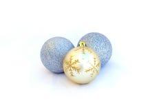 Изолированные шарики рождества Стоковые Фотографии RF