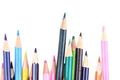 изолированные crayons цвета Стоковое Фото