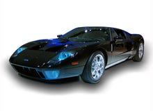 Изолированный автомобиль спорт Форда стоковые фотографии rf