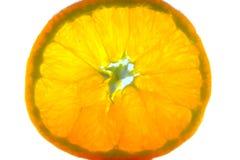 Изолированный апельсин, плодоовощ Стоковые Фото