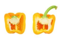 Изолированный болгарский перец сладкого апельсина Стоковое Изображение