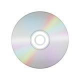 Изолированный бумажный отрезок компактного диска диска, dvd, диска сине-Рэй рекордные данные Стоковые Фотографии RF