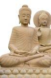 Изолированный Будда, Стоковая Фотография