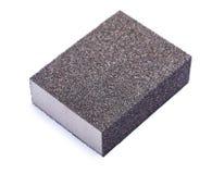 Изолированный блок губки зашкурить Стоковые Изображения RF