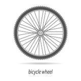 Изолированный вектор колеса велосипеда Стоковое Изображение