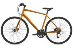 Изолированный велосипед дороги гонки Стоковые Фото